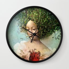 The Day I lost my Heart Wall Clock