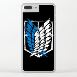 Attack on Titan Survey Corps Clear iPhone Case