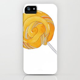 L is for Lollypop iPhone Case