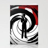 james bond Stationery Cards featuring JAMES BOND by alexa