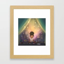 Creative Space Framed Art Print