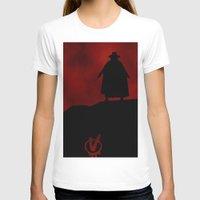 vendetta T-shirts featuring V for Vendetta (e3) by Ezgi Kaya