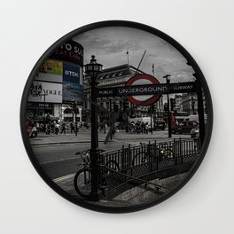 Piccadilly Circus London Wall Clock