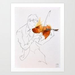 Quartet Series - 1 of 4 Art Print