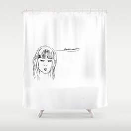 Hopeless Romantics Shower Curtain