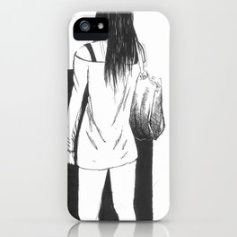 bag girl iPhone Case