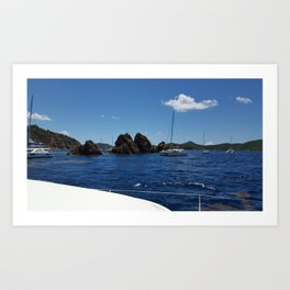 Summer Sea Voyage Art Print