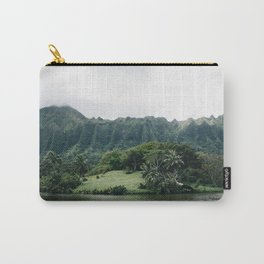 Tropical Mountain - Hawaii Carry-All Pouch
