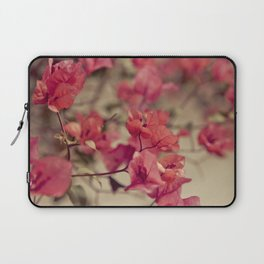 Red Flowers #2 Laptop Sleeve