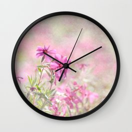 Spring Comes Gently Wall Clock