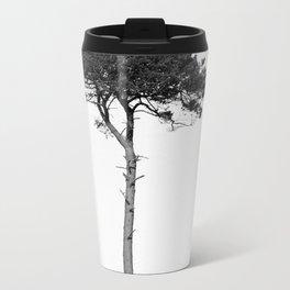 Nature in black and white Metal Travel Mug