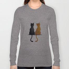 cat buddies Long Sleeve T-shirt