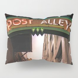 Post Alley in Seattle Washington Pillow Sham