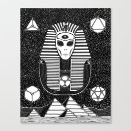 Thoth the Atlantean Canvas Print