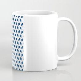 rhombus bomb in monaco blue Coffee Mug