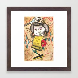 MWID Framed Art Print