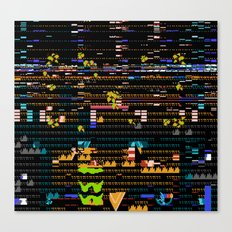 Worse That This Cannot Be A Mirage Canvas Print