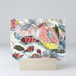 Tropical Sea Fish & Corals, Rawa Island, Malaysia Mini Art Print