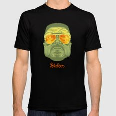 The Lebowski Series: Walter LARGE Black Mens Fitted Tee