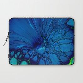 Indigo hibiscus Laptop Sleeve