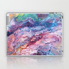 Rainbow Dream Groovy Flow #22 Laptop & iPad Skin