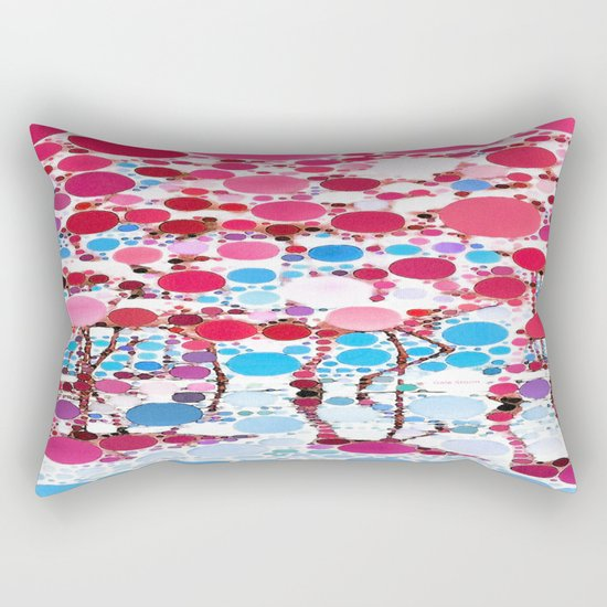 :: Flamingo Hookah :: Rectangular Pillow