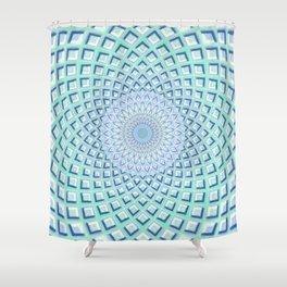 Just Breathe - Mandala Art Shower Curtain