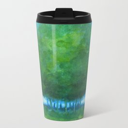 Tree Fluff Metal Travel Mug