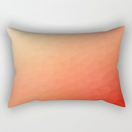 Red flakes. Copos rojos. Flocons rouges. Rote Flocken. Красные хлопья. Rectangular Pillow