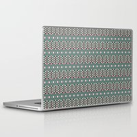 folk Laptop & iPad Skins featuring Folk by Ana Types Type