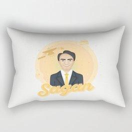 Smart Scientists - Sagan Rectangular Pillow