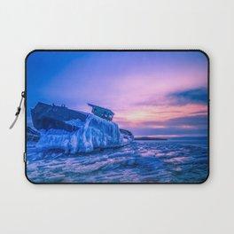 Frozen boat Laptop Sleeve