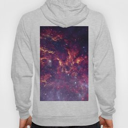 Star Field in Deep Space Hoody
