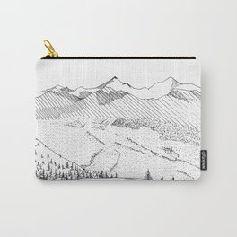 Moutains Carry-All Pouch