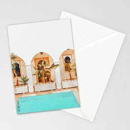 Turkish Holiday #painting #travel Stationery Cards
