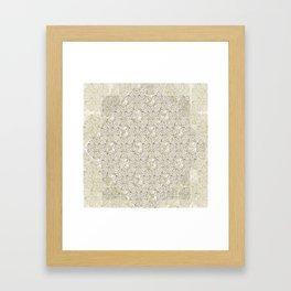 Loose Geometry - by Fanitsa Petrou Framed Art Print