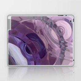 Purple Ripples Laptop & iPad Skin