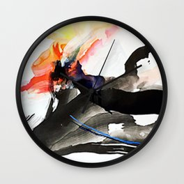 Day 16: Let your mind be like fire... Wall Clock