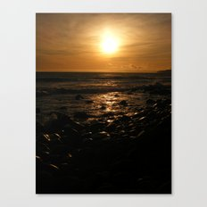 Spring Time Sunset Canvas Print