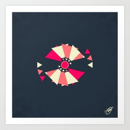 Satellite 4 Art Print