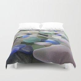 Sea Glass Assortment 6 Duvet Cover