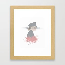 There is only the battle Framed Art Print