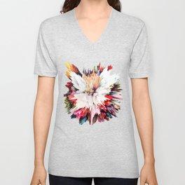 Floral Explosion Unisex V-Neck
