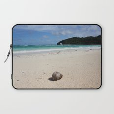 The Coconut Nut is a Giant Nut - beach view Laptop Sleeve