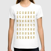 sci fi T-shirts featuring Sci-Fi Glyphs by Lestaret