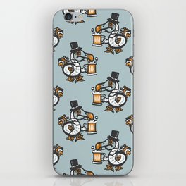 Dodo with beer iPhone Skin