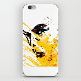 Street art yellow painting colors fashion Jacob's Paris iPhone Skin