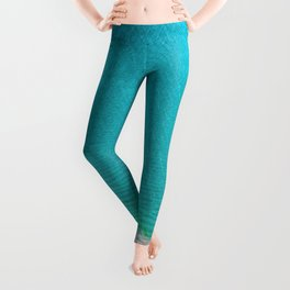 Blue from the top 2 Leggings