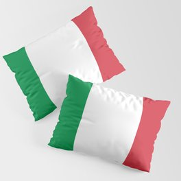Italy Flag Italian Patriotic Pillow Sham