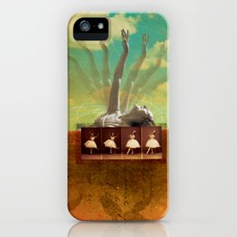 Social Life #2 (The Dancer) iPhone Case